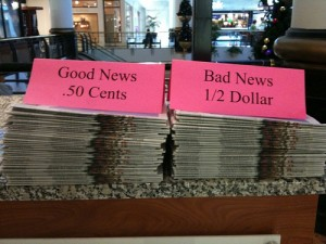 Even Good News Can Cause Anxiety