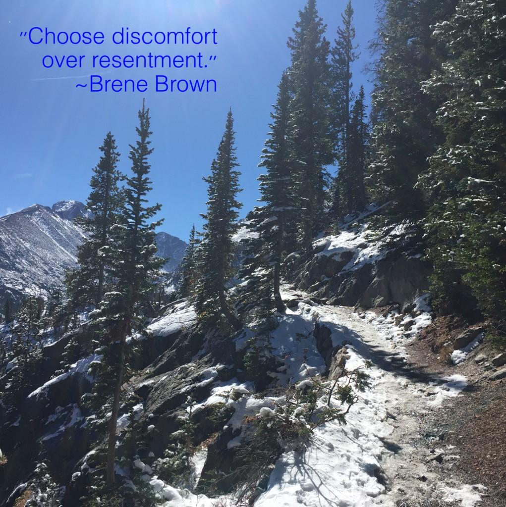 Choose Discomfort
