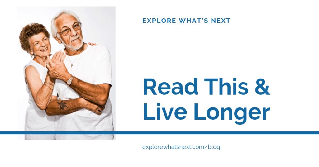 Read This & Live Longer