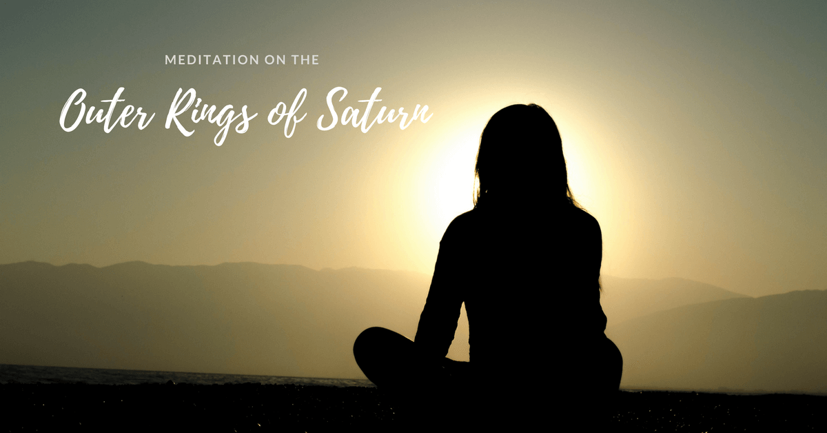 Meditation On the Outer Rings of Saturn
