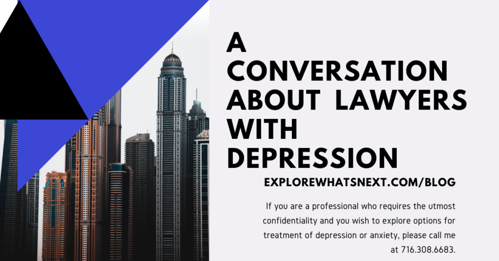 A Conversation About Lawyers with Depression