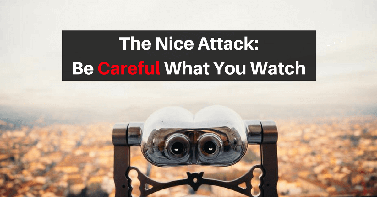 The Nice Attack: Be Careful What You Watch