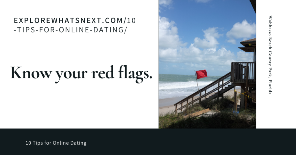 know your red flags