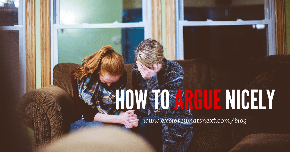 How to Argue Nicely