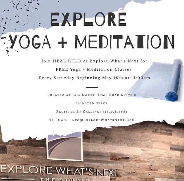 Explore Yoga + Meditation @Explore What's Next