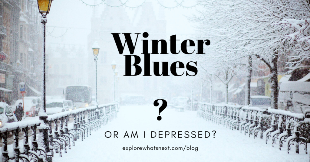 Do I have the winter blues or am I depressed?