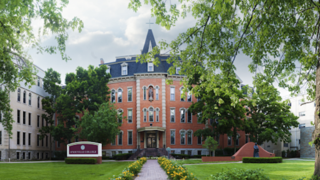 D'Youville College in Buffalo, New York where Lisa Graziano received her training as a psychiatric mental health nurse.